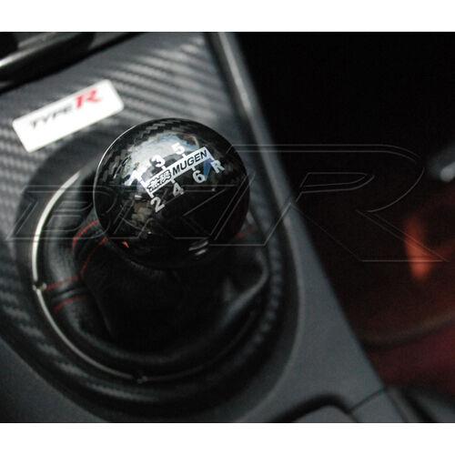 MUGEN CARBON FIBRE Shift Gear Knob For Honda CRZ CIVC TYPE R S - Acura rsx shift knob