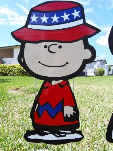4th of July Memorial Day Holiday Summer Lawn Decorations