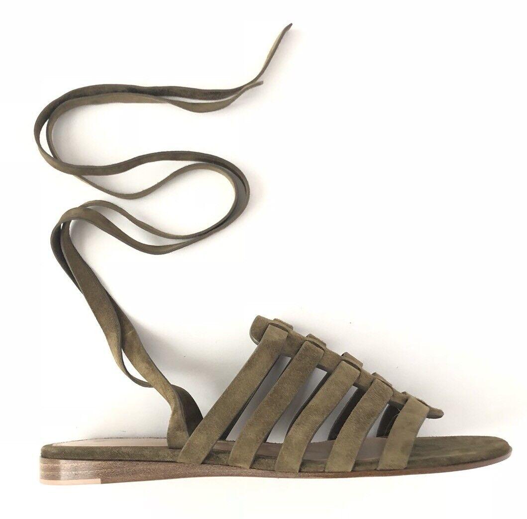Gianvito Rossi Women shoes Size 37.5 NIB Pompei Gladiator Sandals
