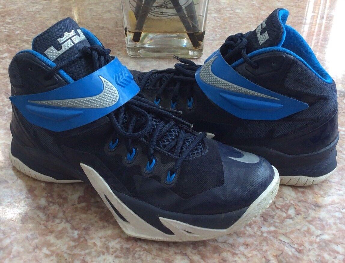 Nike Zoom LeBron TB azul real soilder VIII TB LeBron zapatos de baloncesto cómodo el calzado más popular para los hombres y las mujeres 2f6419