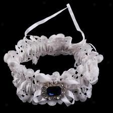 9153f98a1bd item 3 Wedding Bridal Lace Garter with Pearl Crystal Bow Navy Blue Black  White -Wedding Bridal Lace Garter with Pearl Crystal Bow Navy Blue Black  White