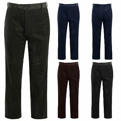 2019 Neuestes Design Mens Casual Cord Corduroy Cotton Classic Formal Trousers Pants Big Size 30-50