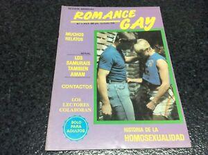 ROMANCE-GAY-N-1-Magazine-vintage-gay-Spain-1987