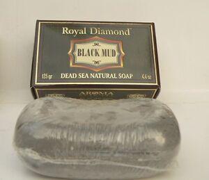 Dead sea black mud soap