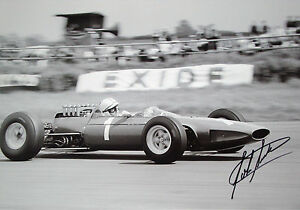John Surtees  XL 18x12 SIGNED  Ferrari 158 F12 British GP Silverstone 1965 - northampton, Northamptonshire, United Kingdom - Returns accepted Most purchases from business sellers are protected by the Consumer Contract Regulations 2013 which give you the right to cancel the purchase within 14 days after the day you receive the item - northampton, Northamptonshire, United Kingdom