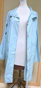 Limited Sky Trenchcoat Fall Raincoat Large Blue L Den Nwt Spring Jacket Light Ya5q8tw