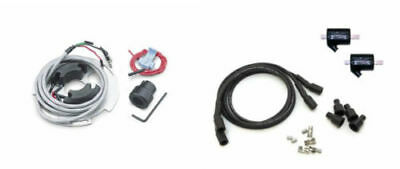Dynatek DS6-2 Electronic Ignition System Coils Wires Single Fire - H-D 1970-98