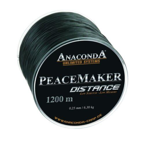 Sänger Anaconda PEACEMAKER DISTANCE 0,32mm Karpfenschnur Angelschnur