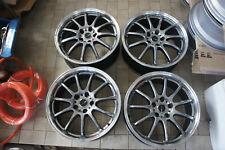 Jdm 18 Work Emotion 11r Wheels For Honda Civic Fd2s Dc5 Dc2 Cl1 Rsx Tsx Fk Fn2