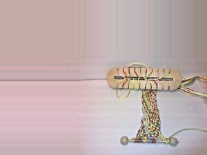 Knüpfstern  zum knüpfen von Schnüren wie Knüpfblume