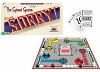 Classic Sorry - The Great Game Board Game-family Game-cards-table Top Toys on Sale