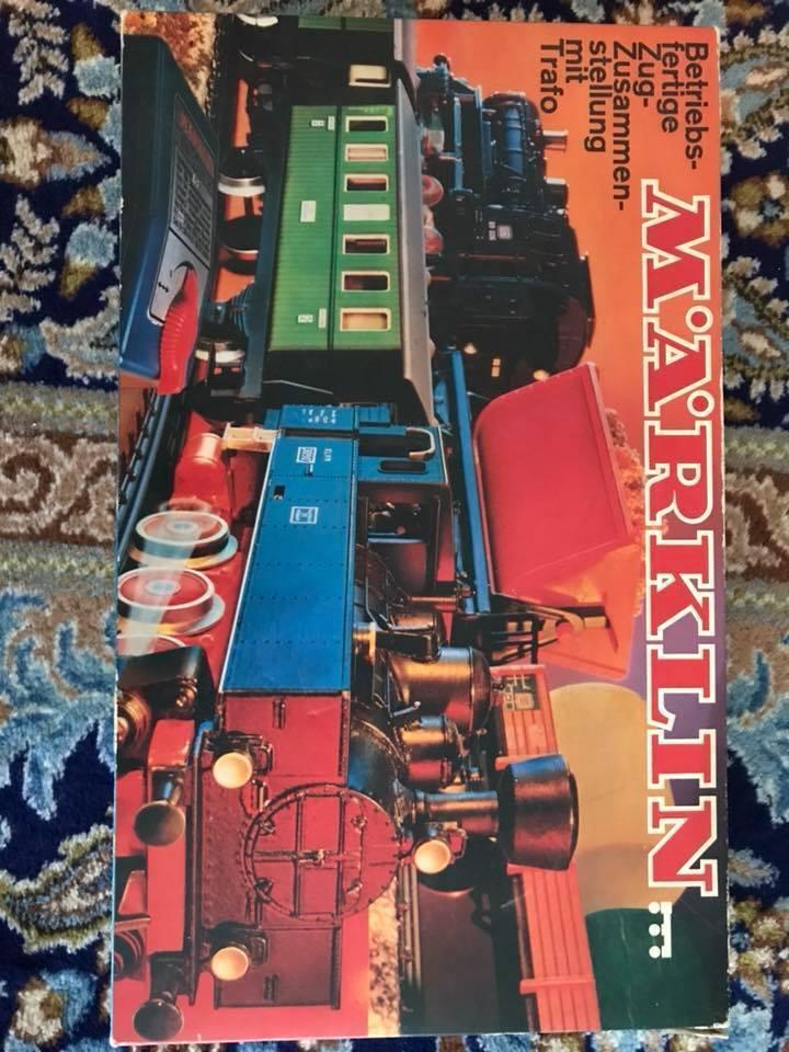 Marklin HO Train Set Vintage 2902