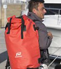 RED 500 D WATERPROOF BACKPACK -PVC WATERPROOF BACKPACK NAUTOS 58048