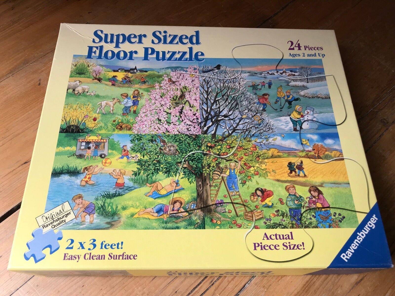 Ravensburger puzzle - knstlerin katrin lindley boden der vier jahreszeiten 2x3 meter 24pc