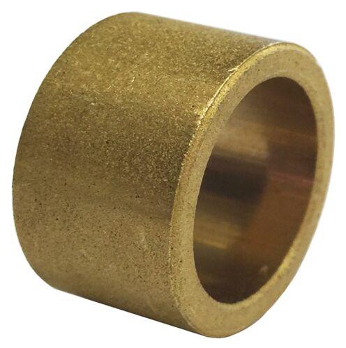 Cojinete de bronce Bush 10mm diámetro Oilite X 16mm OD x 16mm de largo