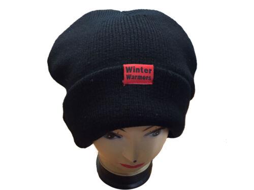 New Unisex adults Knitted Tattoo Argyle Beanie Hat Plain ear lap fur Winter Hats