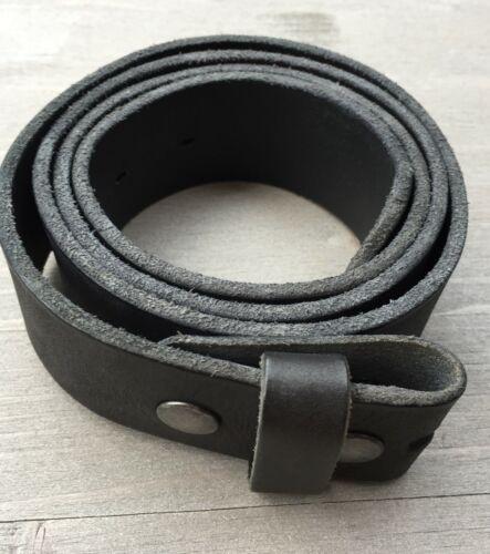 """Cambio hebillas cinturón /""""umjubelt/"""" negro longitud 80 105 cm cinturón de cuero"""