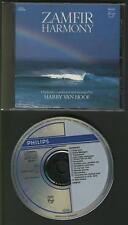ZAMFIR Harmony 1985 CD WEST GERMANY PHILIPS with orchestra harry van hoof