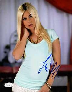 JESSIE-VOLT-JSA-COA-HAND-SIGNED-8x10-PHOTO-AUTHENTICATED-AUTOGRAPH