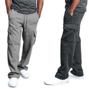 Men-Jogger-Loose-Cargo-Combat-Long-Pants-Sweatpants-Work-Trousers-Fashion