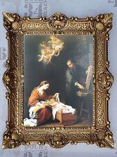 Gemälde Jesus Maria Ikonen Repro BAROCK Antik look 56x46 cm Religiöse Bilder 3