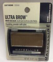 Maybelline Ultra Brow Brush-on Color ( Light Brown ) Original Formula Carded