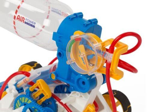 Kit A Monter Educatif Construction Voiture Avec Moteur Energie Air Comprime