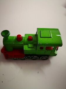 Majorette-278-Western-Lok-Dampflok-gruen-1-87-Lokomotive-aus-Sammlung