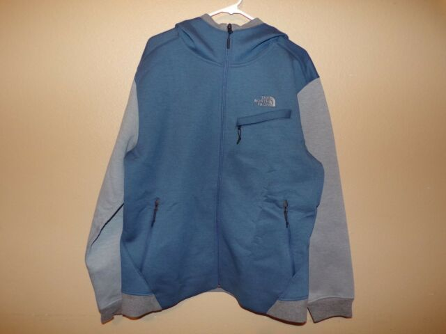 62eb83f40 The North Face Men Thermal 3d Fleece Jacket Hooded XL Shady Blue/blk