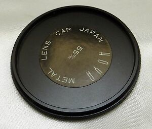Hoya-Metal-screw-in-type-lens-cap-for-filter-stacking-55mm-male-threads