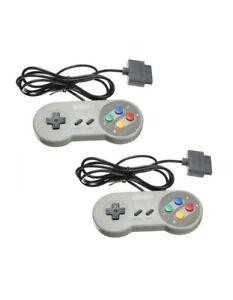 2X-Manettes-filaire-pour-Super-Nintendo-Famicom-Snes-Jeux-Video