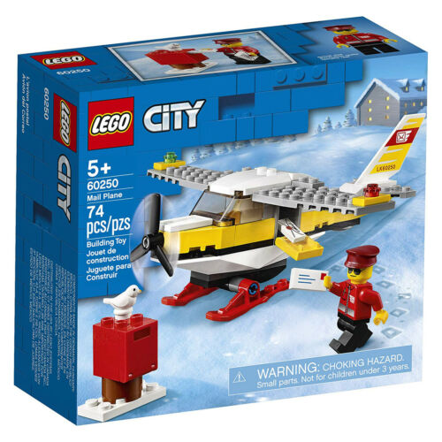 LEGO® City Mail Plane Building Set 60250 NEW IN STOCK