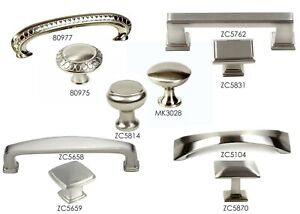 Details About Pull Handle Kitchen Cabinet Hardware In Brushed Nickel Collection By Kpt