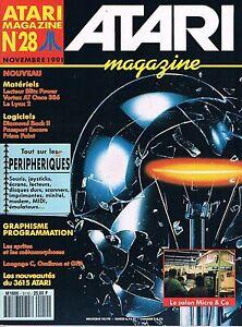 Atari Magazine N°28 Nov 1991 : Périphériques