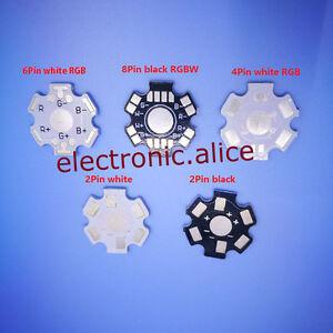 1W 3W 5W High Power LED Heat Sink Aluminum Base Plate PCB Board RGB RGBW UE