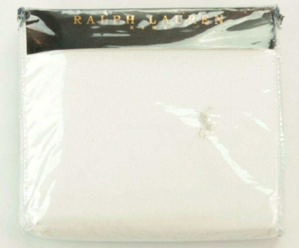 Ralph Lauren White Double Duvet Cover