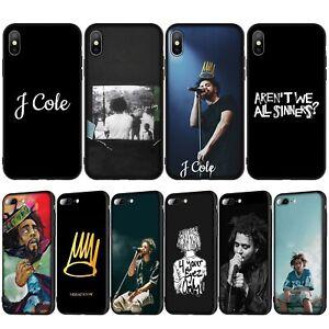 Rap-pop-j-Cole-Case-iPhone-6s-7-8-X-XS-11-Pro-Max-popular-American-rapper-singer