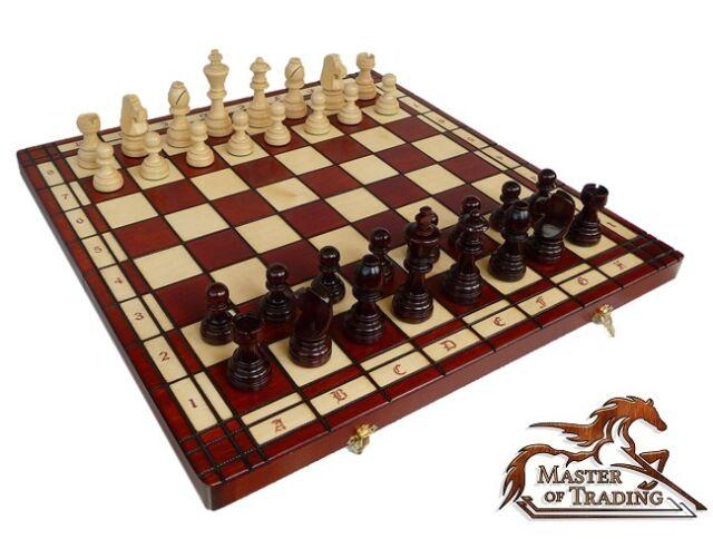 ''Tournament No 8'' 54cm x 54cm-The Biggest Tournament Wooden Chess Set On Ebay!