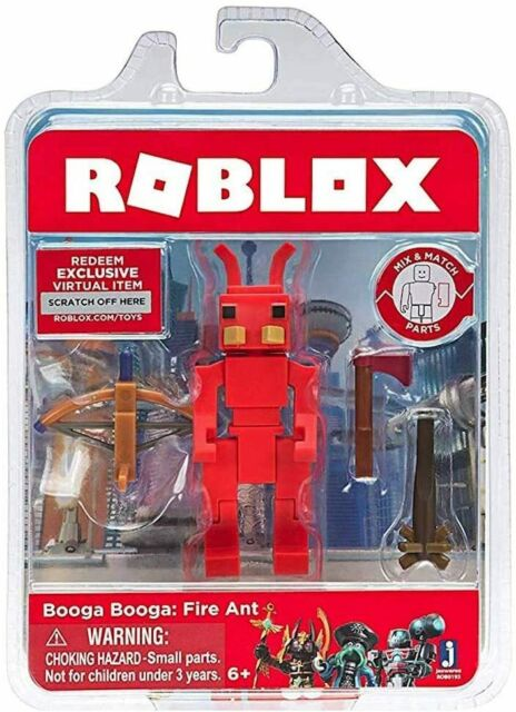 Virtual Item Code Roblox Roblox Booga Booga Fire Ant 3 Action Figure W Exclusive Virtual Item Code For Sale Online