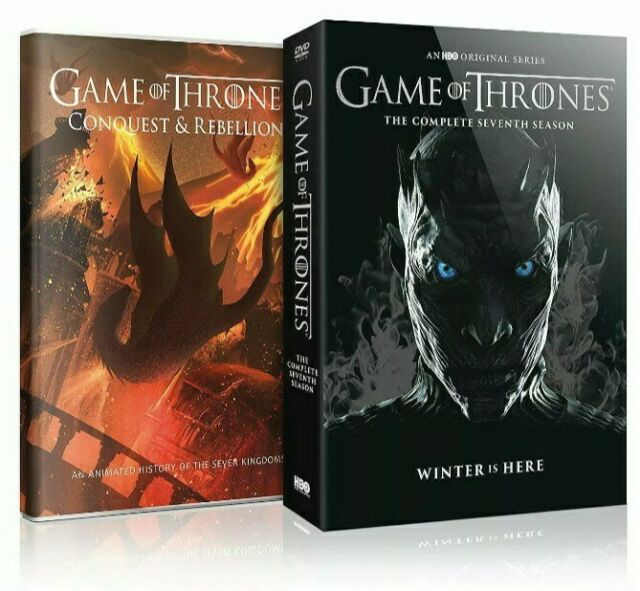 Game Of Thrones Complete 7th Season Conquest Rebellion 5 Dvd Set 2017 For Sale Online