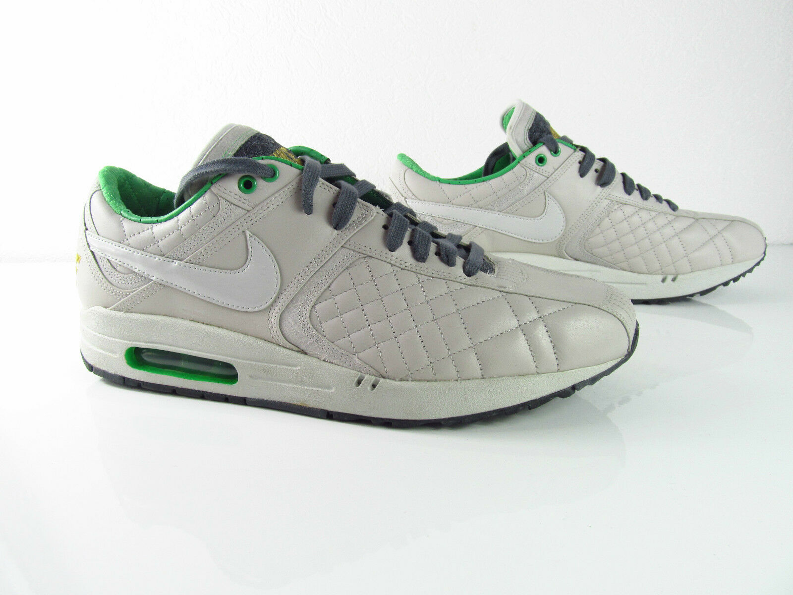 Nike 87 Air Max Tricky 90 87 Nike 1 Quilted Gris Very Rare UK_10.5 US_11.5 Eur 45.5 4a7ac2