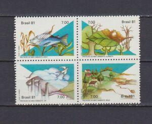 S19036) Brasilien Brazil MNH Neu 1981 Environment 4v