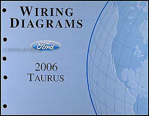 details about 2006 2007 ford taurus wiring diagrams manual original oem electrical schematics 2007 impala wiring diagram 2007 taurus wiring diagram #1