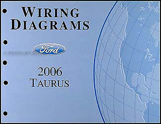 2006-2007 Ford Taurus Wiring Diagrams Manual Original OEM Electrical Schematics