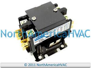 janitrol goodman 24 volt contactor relay cont2p040024v rh ebay com Latching Contactor Wiring Diagram Contactor Schematic
