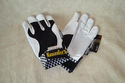 2 Paar Arbeits-handschuhe Gr.8,0 Keiler-fit Handschuhe