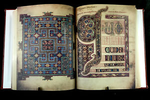 Lindisfarne Gospels 700 Ad Facsimile Antiquarian & Collectible