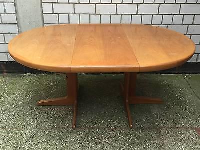 table Esstisch dining table Teak Denmark 60er ausziehbar