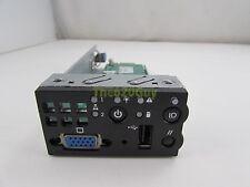 Intel SR2500 Server Front Buttons VGA Control Panel Board D25536-202 + I/O Plate