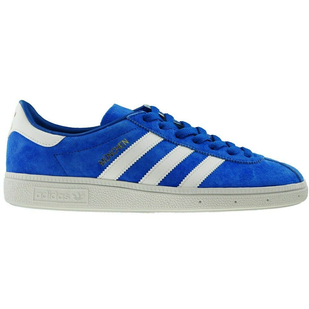 Shoes Universal Men Adidas Munchen BY1723 White,Blue